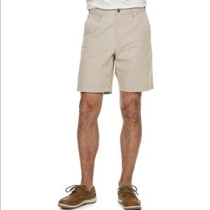 NWTClassic-Fit Stretch Flex-Waist Flat-Front Short